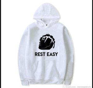 REST EASY Rapper Fleece Pullover Herren Damen Frühling Herbst XXXTentacion Souvenir Jahrestag Pullover