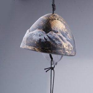 Японского Furin Ветер Chime Намба чугунного Iwachu Bells Garden Decor Bronze