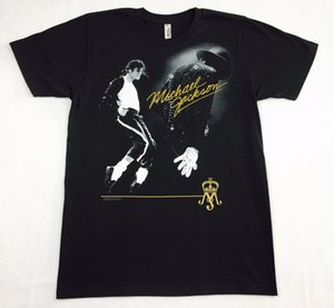 "Michael Jackson T-shirt ""Billie Jean"" Officiel Adulte Homme Noir Nouveau S, M, L, Xl"
