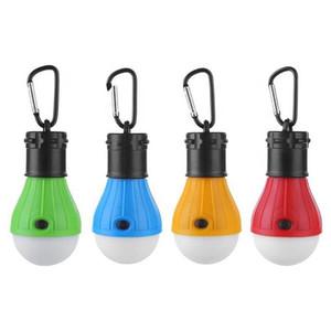 4 стили открытый палатка свет 3 светодиодные крюк портативный освещение отдых на природе света портативный мини-кемпинг аварийное освещение