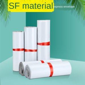 Blanco New SF expreso espesó Taobao impresión en blanco Nueva SF expreso espesó Taobao envases a prueba de agua a prueba de agua bolsa de impresión de envases