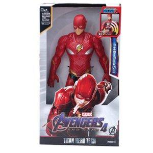 2016 12 30Cm Marvel Avengers 3 Infinity War Action Figure Spiderman Iron Man Black Panther Thanos Captain America Doll 12 30Cm Marvel home20