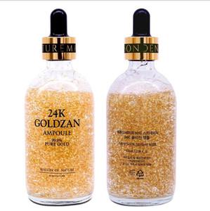 브랜드 24k Goldzan Ampoule 99.9 % 순수 골드 Maison De Nature 보습 크림 Gold Essence Serum 100ML