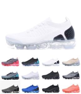 Nike air vapormax Vapeurs gros Sneakers Chaussures Hommes Noir Blanc Rouge Formateurs Tennis 2018 2.0 Chaussures Soyez TRUE Les Créateurs de sport Chaussures de sport 36-45