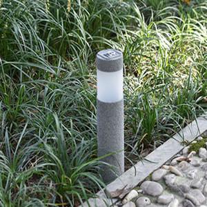 Sandstrahl 3W Solarrasen-Licht im Freien wasserdichten LED-Weißlicht Garten Landschaft Yard Rasen Pfad Lampen CRESTECH