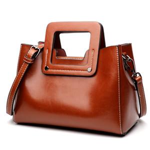 Designer-New Style Women's Bag, Fashion Women's Handbag, Single Shoulder Oil Wax Kraft Bag