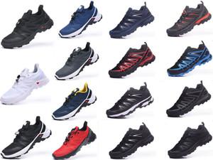 Erkek Solamon Hız Çapraz 17s Spor Üç Katına Beyaz TÜM Siyah Traine boyutu 40-47 çalıştıran Erkekler Sneakers Moda Marka Ayakkabı Koşu