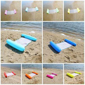 Yaz Su Hamak Yüzme Havuzu Şişme Mat Oyuncak Sallar Yüzer Yatak Yüzme Salonu Şişme Su ChairT2I5986 Yatak Kayan