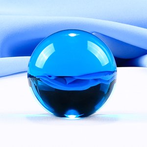 1 Piece 9 Color Crystal Ball Globe Various Glass Ball Globe Home Decoration Feng Shui Crafts For Gifts Home Decoration