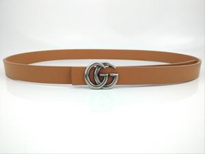 Gs svago della cinghia liscia fibbia larghezza è di 2,5 centimetri uomini di lusso di marca del progettista 1Igg cinghia I1tendenza