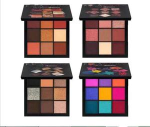 9 Renk Göz Farı Paleti 2019 Pigment Özel Glitter Eye Shadow Su geçirmez Gözler Yüz Yukarı yapar Makyaj