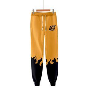 Teenager Anime Naruto Uzumaki 3D Jogger Pants Harajuku Streetwear Sweatpants Casual Trousers Men Women Cosplay Costume Pants
