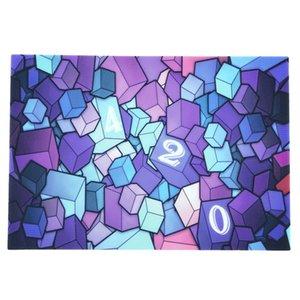 Hediyesi için FDA silikon pişirme mat ısıya dayanıklı tabak altlığı 2mm Karikatür kafatası Görüntü Kare Shape balmumu paspas 208mm * 300mm Renkli bir seçim