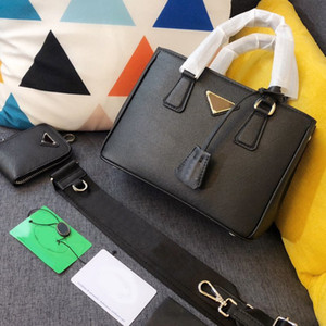 Lady Shoulder Bag Woman Bag Genuine Leather Bag Fashion Plain Purse Genuine Leather Handbag Interior Zipper Removable Shoulder Strap Wallets