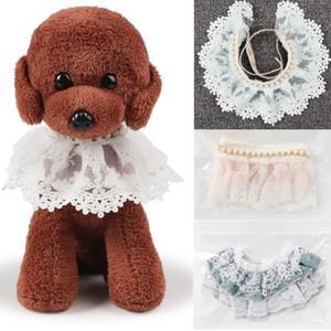 2 Estilos de Luxo Por Atacado Produtos para Animais de Estimação Dog Supplies Pet Charme Dog Lace Colar Rhinestone Puppy Collar Cat Acessório
