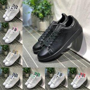 2020 adidas Stan Smith Shoes New adidas superstar Shoes Cheap Women Casual Superstars Sneakers en cuir Skateboard poinçonner Blanc Noir Chaussures Filles Stan Smith