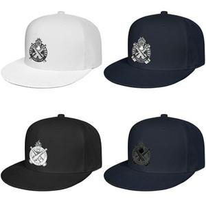 Спрингфилд Оружейной мужская и женская повернет вспять baseballcap симпатичные бедра Hopflat brimhats символ логотип патч
