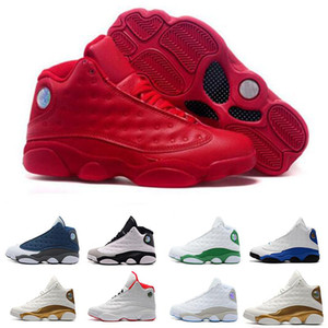 mens 13 13s Basketball Shoes black cat DMP He Got Game Chicago olive Altitude Playoffs Love Respect Hyper Royal Sport Sneakers US 7-13