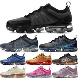 2019 Пары мужских кроссовок Дешевого Run UTILITY Black White для Trainer Дизайнерских женщин спорта деза Chaussures чутье Подушки размера 36-45 US11