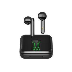 TWS سماعات لاسلكية X15 TWS LED العرض 5.0 سماعات بلوتوث رياضة الألعاب سماعة أذن تشغيل سماعات الرأس مع هيئة التصنيع العسكري