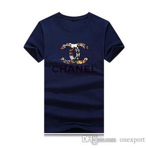 Uomo maniche corte in cotone T-shirt Polo Tees Luary modo di marca casuale attivi camice Sport Outwear magliette Polo Top DXCC