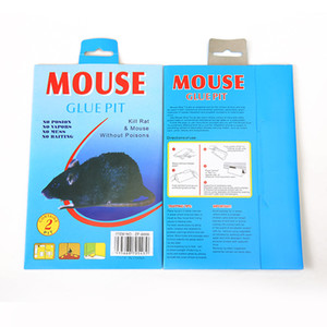Sticky Mouse Rat ratent Colle Traps Board Smure de ménage Mousetrap Pest-Zalse antiparasitaire Super forte Snake Snake Bugs Cockroach Fly Board non toxique