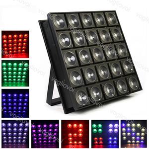 LED Etkileri 800W 1 RGB Işık Alüminyum DMX512 içinde 25x30W 3 IP20 Kapalı Stüdyo Sahne Disco DHL için 16 Milyon 700 Bin Renk Dj Equipment