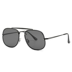mens designer sunglasses fashion rimless sunglasses model 3583 high quality UV Protection lens metal hinge women luxury designer sunglasses