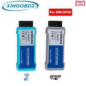 إصدار VXDIAG VCX NANO USB / Wifi لنظام GM / Opel GDS2 الثاني TIS2WEB للتشخيص / البرمجة