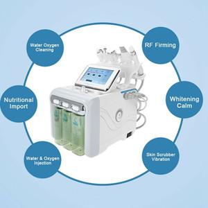 Portátil 6in1 Hydrafacial Máquina do Aqua Peeling Limpo Micodermabrasion Dispositivo Blackhead remoção Skin Care Elevador Salão de beleza Uso Doméstico