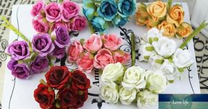 шелк небольшой розы искусственных цветов поделки werath отделочный материал свадьбы цвет Ronde можно выбрать