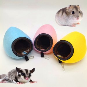 Slipper Sleep Bag House With Durable Clip Small Animal Fleece Cotton Nest For Winter Small Pet Warm House