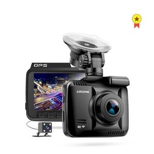Neu 4K Eingebaute GPS WiFi Auto DVR Recorder Dash Cam Dual Lens Fahrzeug Rückfahrkamera Camcorder Nachtsicht Dashcam
