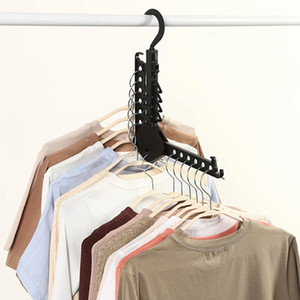Многофункциональная Магия вешалка стойка одежды Space Saver складной вешалка для одежды сушилки для одежды Шкаф Организатора
