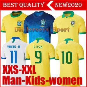 2020 Brezilya Amerikan Kupası futbol takımı forması erkekler forması VINICIUS Firmino forma kadın Dünya Kupası özel futbol çocuklar gömlek seti
