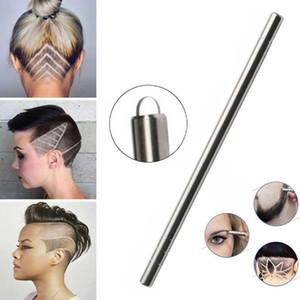 1 Pen 10 Blades Clip Salon Magic Engraved Pen Stainless Steel Haircut Razor Shaving Pencil Eyebrow Beards Hair Removal Tool Set