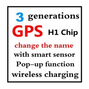 Новые Горячие продажи h1 чип второго поколения для наушников H1 чип Переименован гарнитура 3nd поколения беспроводной зарядки Bluetooth Наушники GPS Pos