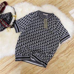 20ss Lüks Marka JADIOER Erkek Kadın Tişört Polo Tasarımcı t shirt polo Tee Gömlek Tam Logolar 3.30 tshirt Casual Aşıklar
