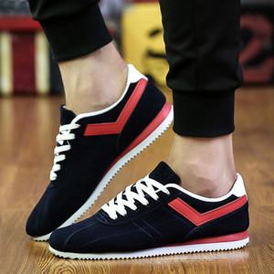 Scarpe estate casuale SAGACE scarpe da tennis uomini di modo esecuzione All-corrispondenza confortevole a bassa caviglia Lace-up piatto Heel Shoes Sport X0103