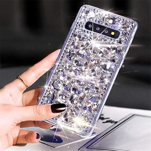 Luxury Fashion DIY Handmade Full Bling Crystal Diamond Case Cover For Iphone 11 Pro XS Max XR X 8 7 6 6S Plus SE 2020