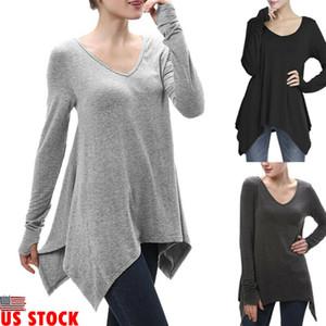 2020 Женская одежда плюс размер пуловер с длинным рукавом футболка Леди свободные мешковатые повседневные топ Джемпер женский костюм
