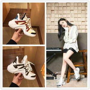 Eski ayakkabı kadın gelgit ins Avrupa ve Amerika Paris eski ayakkabı çift ayakkabı platformu spor ayakkabıları
