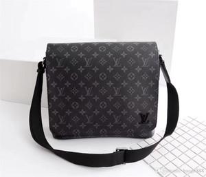2019 nova bolsa de couro de moda, uma bolsa de ombro, saco de ombro dupla, modelo: M44001 size: 33-27-9cm