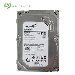 """Seagate Marka 2000GB Masaüstü PC 3.5"""" Dahili Mekanik Sabit Diski SATA3 6Gb / s HDD 2TB 5900/7200 RPM 64 MB Tampon"""