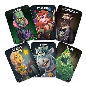 النسخة الانجليزية ليلة واحدة ULTIMATE WEREWOLF ALIEN الانجليزية مجلس النسخة ألعاب بطاقات أطفال بطاقات اللعب