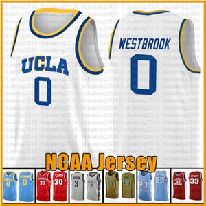 캠퍼스 베어 UCLA 0 Russell 0 Westbrook Reggie 31 Miller Jersey NCAA 농구 유니폼 대학 23 2 Leonard 3 Wade 11 Irving 30 카레