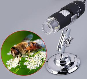 Práctica electrónica 2MP USB 8 LED Cámara digital Wifi Microscopio Endoscopio Lupa 50X ~ 1000X Ampliación Medida Cámara de video
