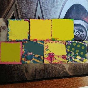 Kuru Ot Çiçek Vape VS Dank gummies Mylar In senedi için Worms Ayılar Küpler sakızlı Packaging Sıcak Stoner Yama Çanta Edibles Perakende 500mg