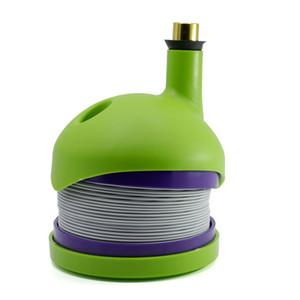 Großhandel Yiwu New Form 4 Farben Kunststoff Stretch Caterpillar Shisha Pfeife Reise Hookah