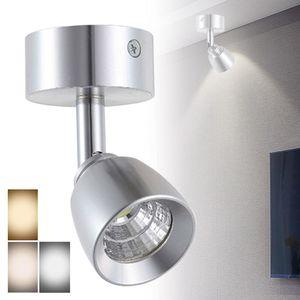 3W 85-265V alumínio giratório COB LED Spot Light Bedroom teto Projector Lamp ângulo de luz da lâmpada vitrine armário ajustável
